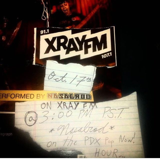 nasalrod will be joining us in the xrayfm studio todayhellip