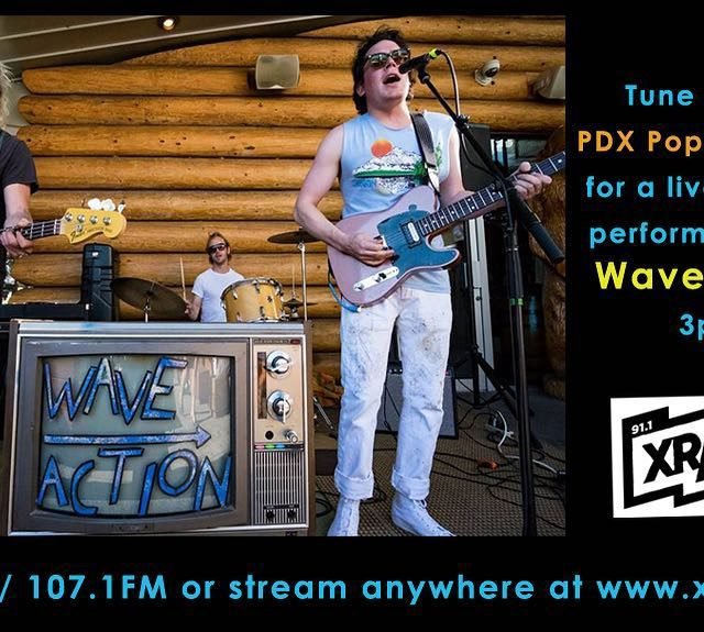 Catch Wave Action doing a live performance today on ourhellip
